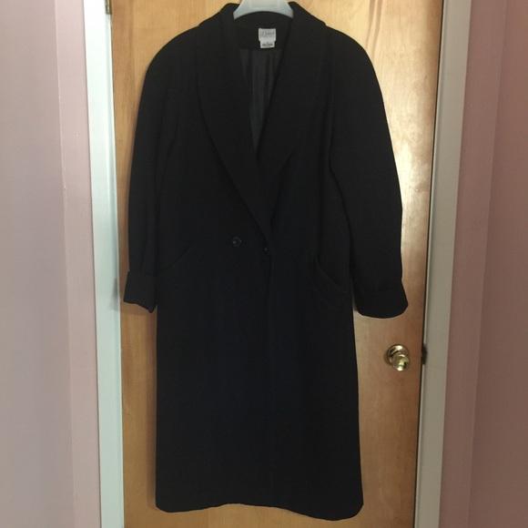 Liz Baker Jackets & Blazers - Liz Baker Long Wool Coat